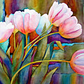 White Tulips by Wendy Westlake