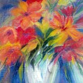 White Vase by Maritza Bermudez