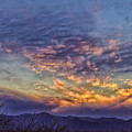 White Water Draw Sunset by Deb Henman