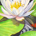White Water Lily by Catherine G McElroy