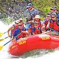 July In Oregon, White Water Rafting by Buddy Mays