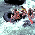 White Water Rafting by Carl Purcell