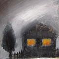 White Winter Night by Vesna Antic