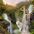 White Wolf Falls by Ali Oppy