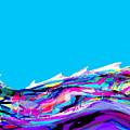 Whitecaps by Expressionistart studio Priscilla Batzell