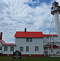Whitefish Point Lighthouse I by Michiale Schneider