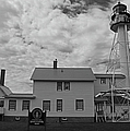 Whitefish Point Lighthouse by Michiale Schneider