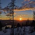 Whitefish Sunset by Eric Fellegy