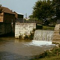 Whitewater Canal Locks Metamora Indiana by Gary Wonning