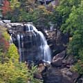 Whitewater Falls In Nc by Jill Lang