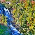 Whitewater Falls North Carolina by Lisa Wooten