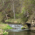 Whitewater River Spring 45 A by John Brueske