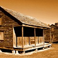 Whitney Plantation Slave Cabins by Michael Hoard