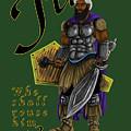 Who Shall Rouse Judah-yellow Trim by Robert Watson
