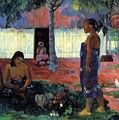 Why Are You Angry 1896 by Gauguin Paul