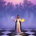 Wiccan Dawn by Jerry LoFaro