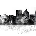 Wichita Kansas  Skyline by Marlene Watson