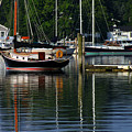 Wickford Harbor by Jim Beckwith