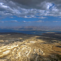 Wide View From Masada by Dubi Roman
