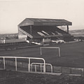 Wigan Athletic - Springfield Park - Main Stand 1 - Bw - 1969 by Legendary Football Grounds