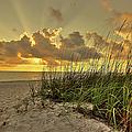Wiggins Pass Sunset by Dennis Goodman