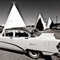 Wigwam Motel Classic Car #2 by Robert J Caputo