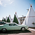Wigwam Motel Classic Car #3 by Robert J Caputo