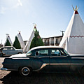 Wigwam Motel Classic Car #5 by Robert J Caputo
