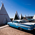 Wigwam Motel Classic Car #6 by Robert J Caputo