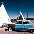 Wigwam Motel Classic Car #7 by Robert J Caputo