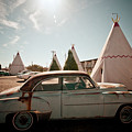 Wigwam Motel Classic Car #8 by Robert J Caputo