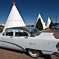 Wigwam Motel Classic Car by Robert J Caputo
