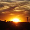 Wild Clouds by Bernadette Bisbee