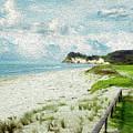 Wild Coastline by Les Cunliffe