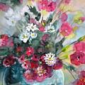 Wild Flowers Bouquet 01 by Miki De Goodaboom