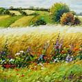 Wild Flowers by Imagine Art Works Studio