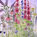 Wild Garden Flowers by Laurie Rohner