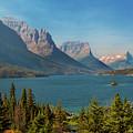 Wild Goose Island - Glacier National Park by Yefim Bam