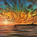 Wild Hearted Sun - Santa Cruz by Joel Tesch