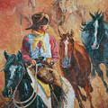 Wild Horse Stampede by LC Herst