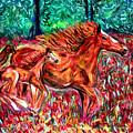 Wild Horses by Debbie Davidsohn