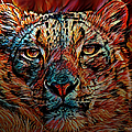 Wild Leopard by Artful Oasis