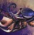 Wild Octopus by Artful Oasis