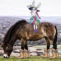 Wild Pony Easter Bunny Girls by Toula Mavridou-Messer