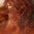 Wild Red Wind by Carol Cavalaris