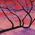 Wild Sky And Tree by Suzanne  Marie Leclair