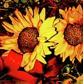 Wild Sunflowers by Art by MyChicC