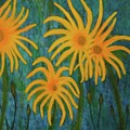 Wild Sunflowers by John Scates