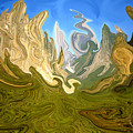 Wild Yosemite - Abstract Modern Art by Peter Potter