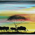 Wildbeest 1 by Abu Artist